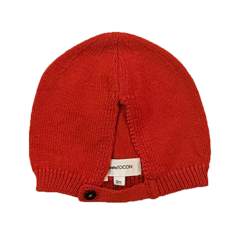 Pequeno Tocon Red Baby Hat
