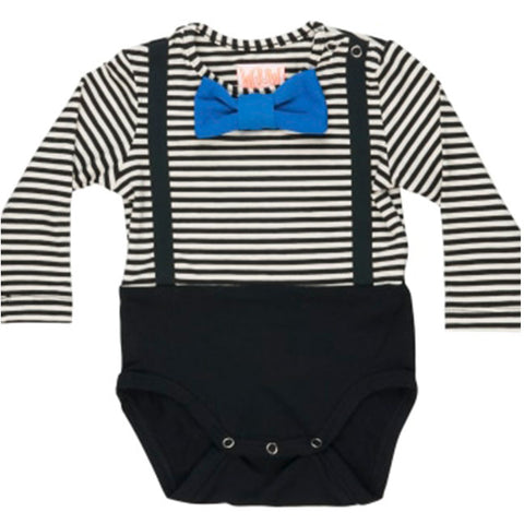 Wauw Capow By Bang Bang Copenhagen Black And White Stripes Dexter Body