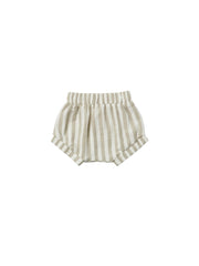 Quincy Mae Sage Stripe Woven Short