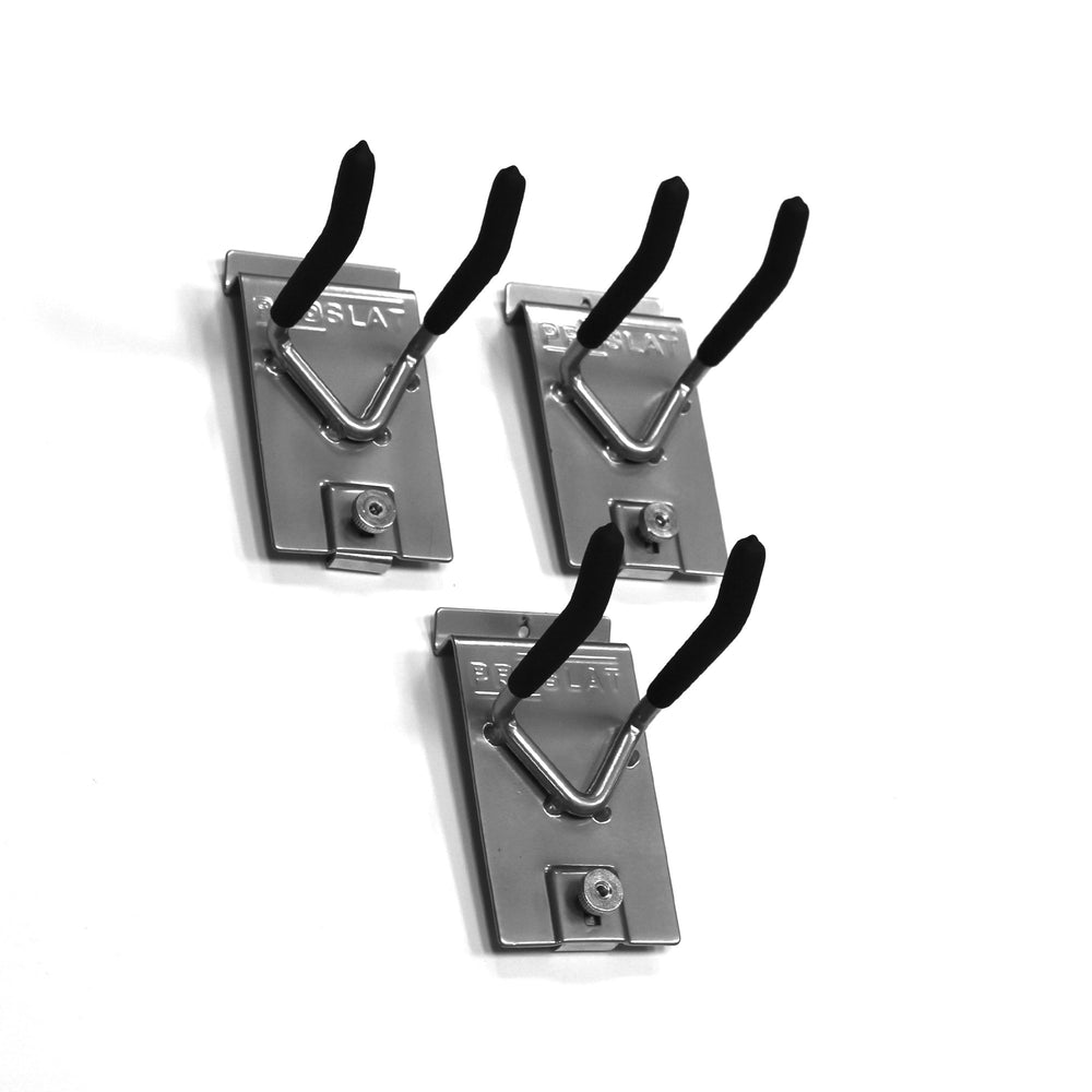 Heavy-Duty 4 in. Double Hook – 3 Pack