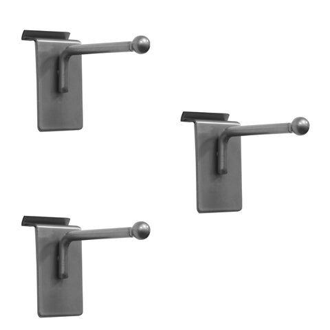 3 in. coat hook – 3 pack