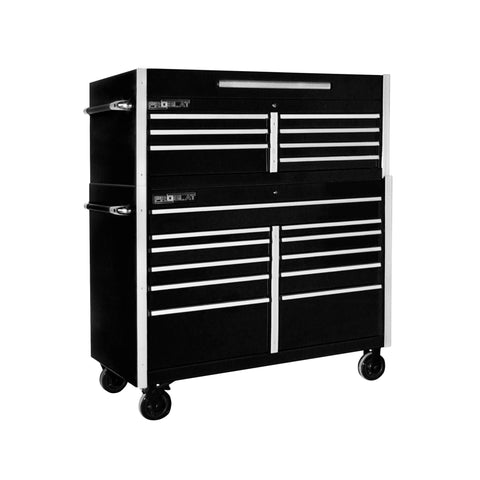 MCS 54 in. Rolling tool chest combo - Black