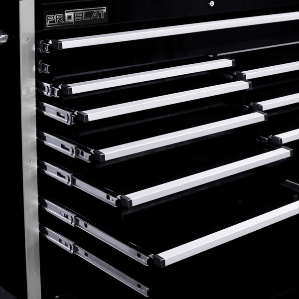 "MCS 54"" Rolling tool chest combo - Black"