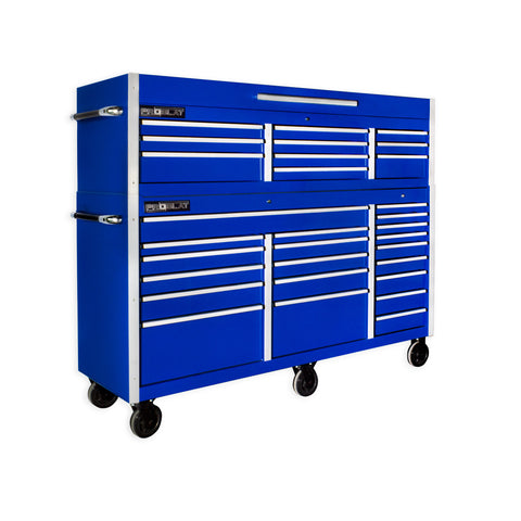 "MCS 72"" Rolling tool chest combo - Blue"