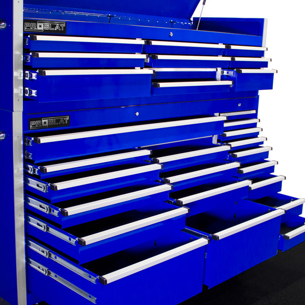 MCS 72 in. Rolling tool chest combo - Blue