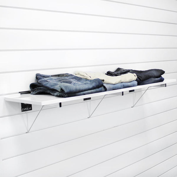 48 in. White Shelf