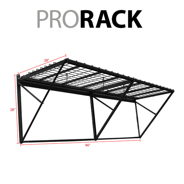 ProRack 8 ft. with Slatwall Bracket