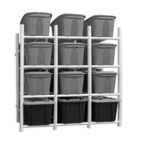 Bin Warehouse Rack - 12 Totes