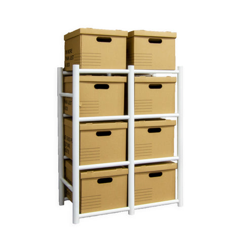 Bin Warehouse Rack – 8 Filebox