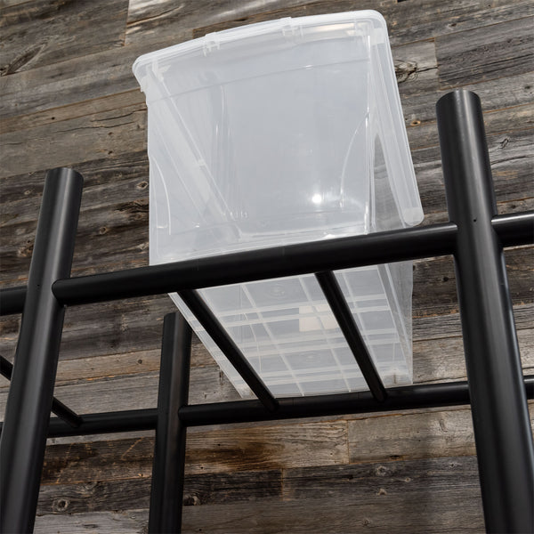 Bin Warehouse Heavy-Duty 12 tote Rack *SPECIAL EDITION*