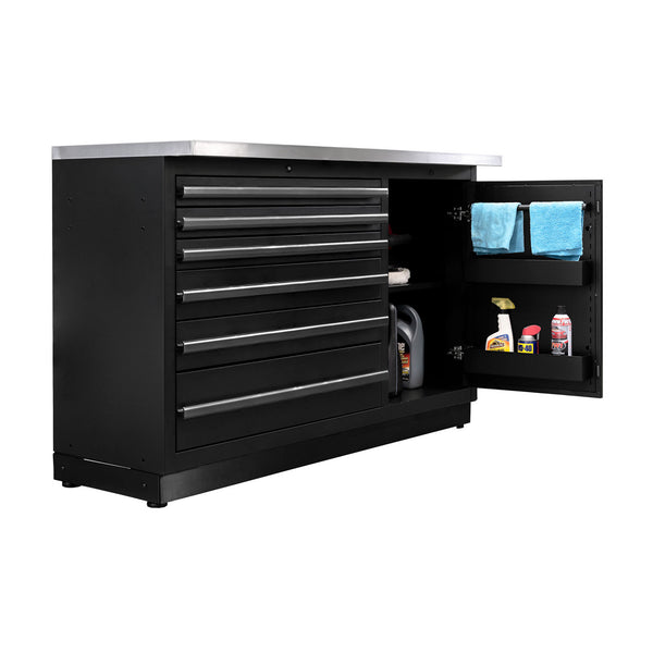 Fusion PRO Cabinets – Tool Chest with Work Surface