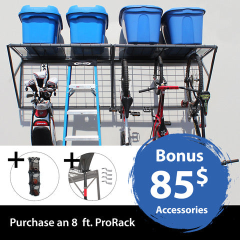 ProRack 8 ft. with BONUS accessories