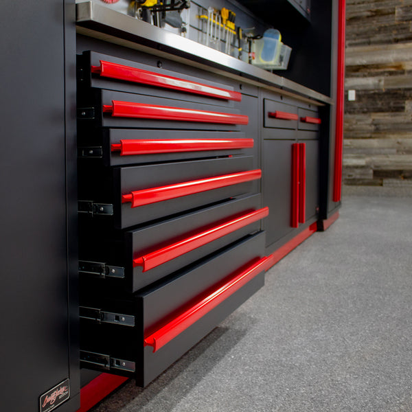 Barrett-Jackson Edition – 7 Piece Tool Chest Set – With Overheads