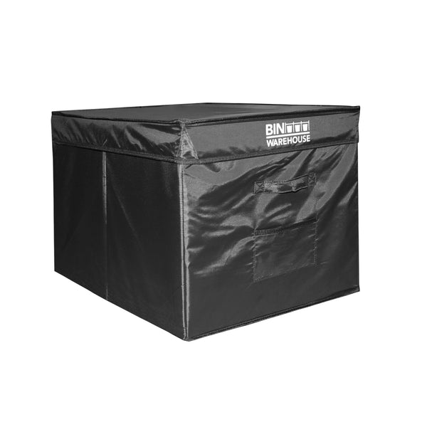 Bin Warehouse Rack – 12 Tote compact with 2 x 4 PK 22 gallon Fold-A-Tote