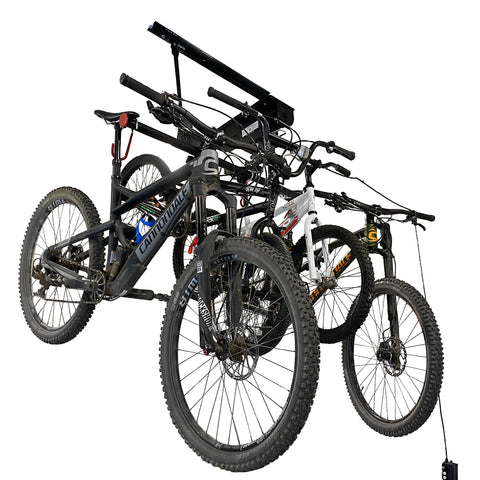 Garage Gator Compact 4 Bike Lift – 220 lb