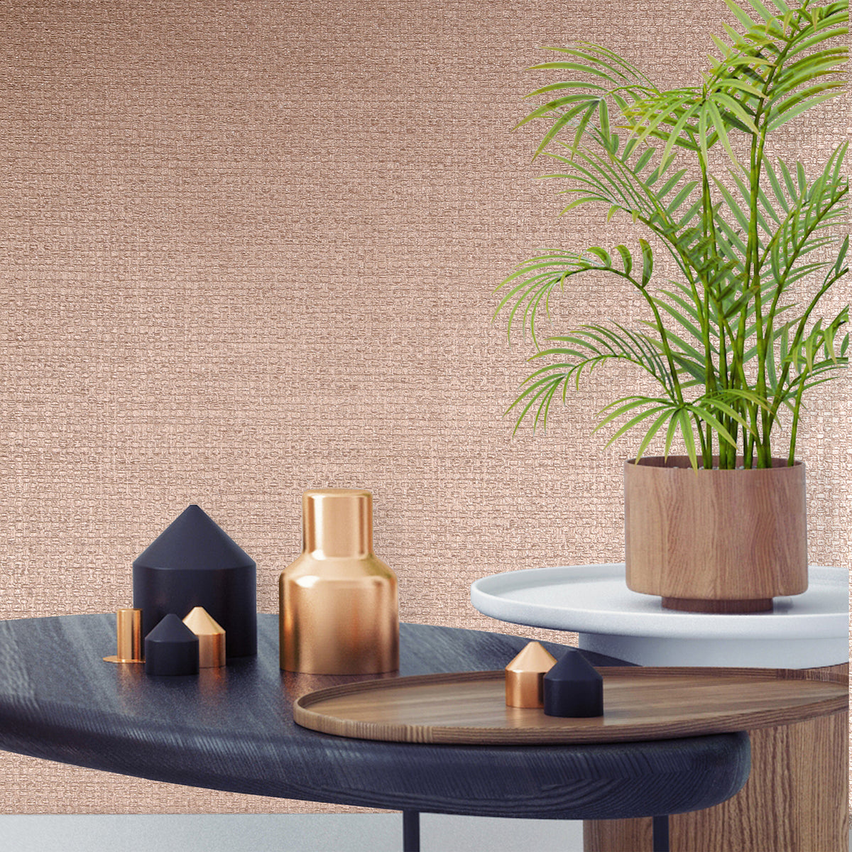 Plains, Textured, Shimmer & Metallic Wallpaper