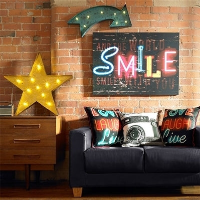 Lit Star | Gold Star Wall Light - Your 4 Walls