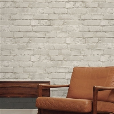 Great Value: Loft Brick Effect Wallpaper | Taupe Limited Edition!