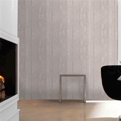 Maple Textured Wood Panel Effect Wallpaper | Beige - Your 4 Walls
