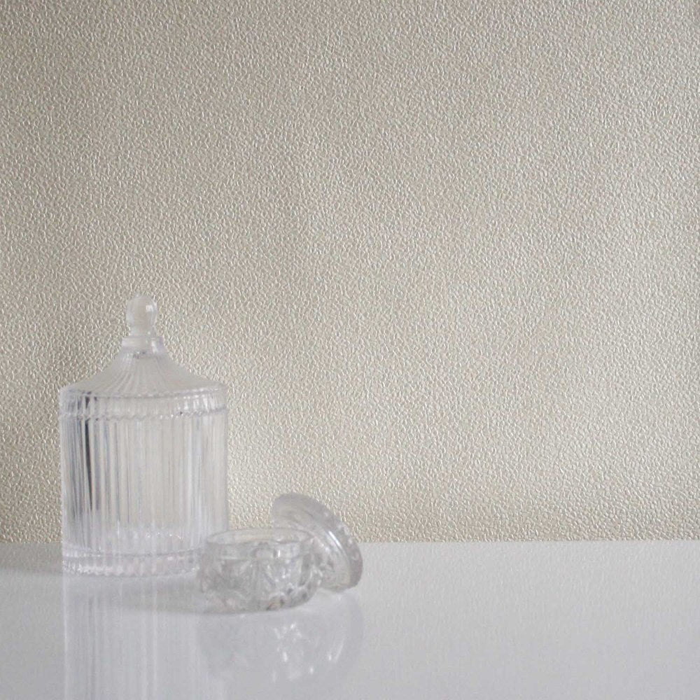 Miracle Stone Effect Textured Wallpaper | Cream / Sand