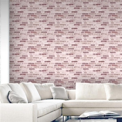 Great Value: Roman Brick Wallpaper |Red - Your 4 Walls