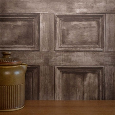 Rushmore Wood Panel Effect Wallpaper | Brown - Your 4 Walls