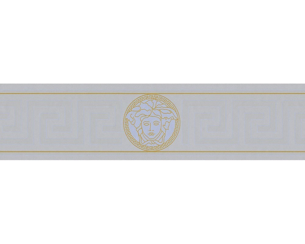 Versace Greek Key Border | Grey - Your 4 Walls