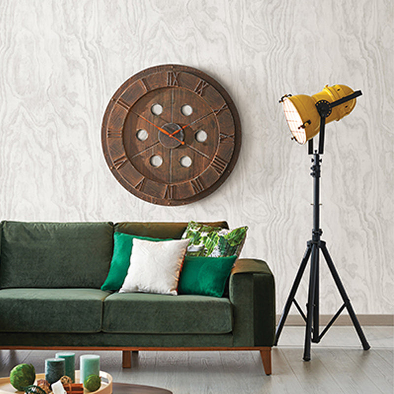 SALE Large Patterned Internal Plywood Realistic Wood Effect Wallpaper | Grey - Your 4 Walls