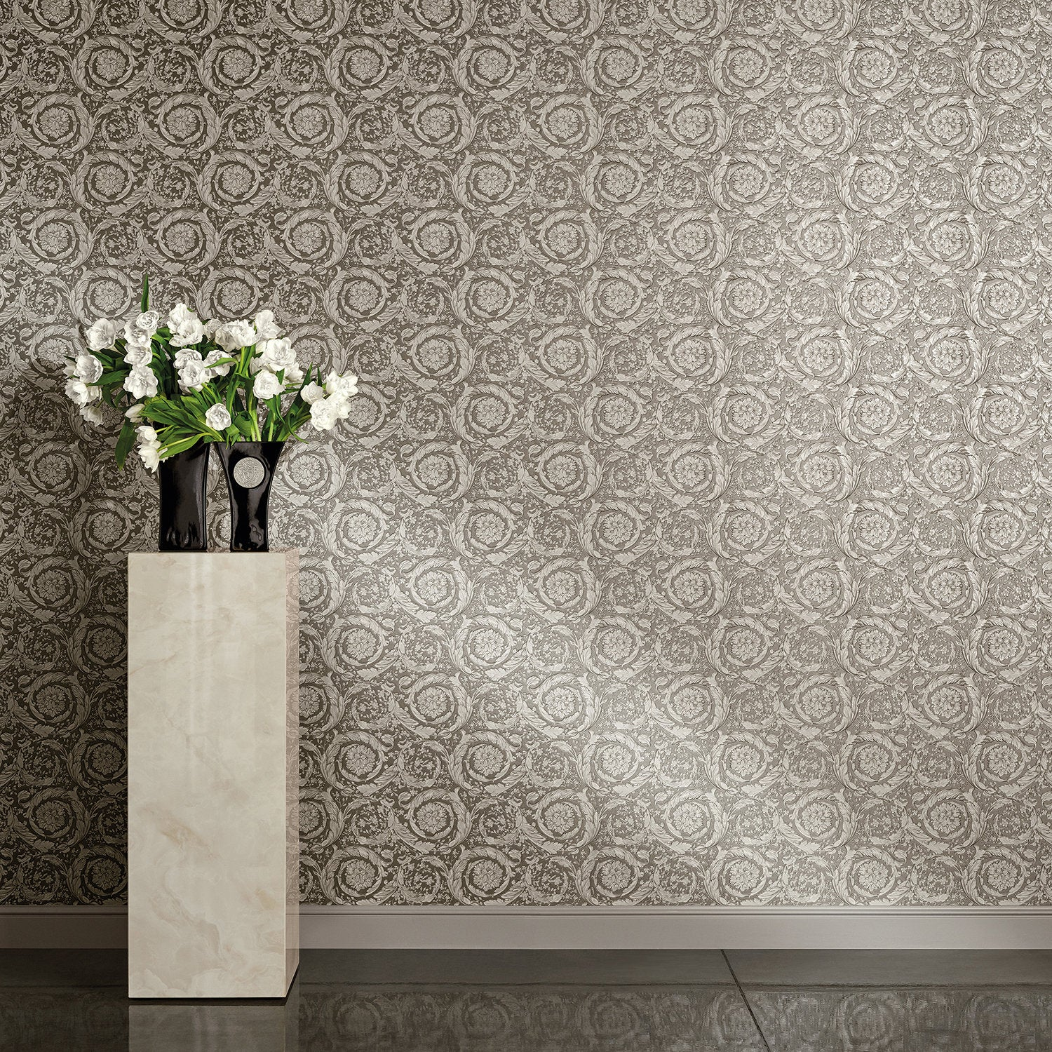 VERSACE - Floral Scroll