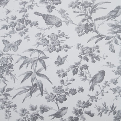 Oasis 'Amelia' Designer Floral Bedding Duvet Set | Grey & Off White - Your 4 Walls