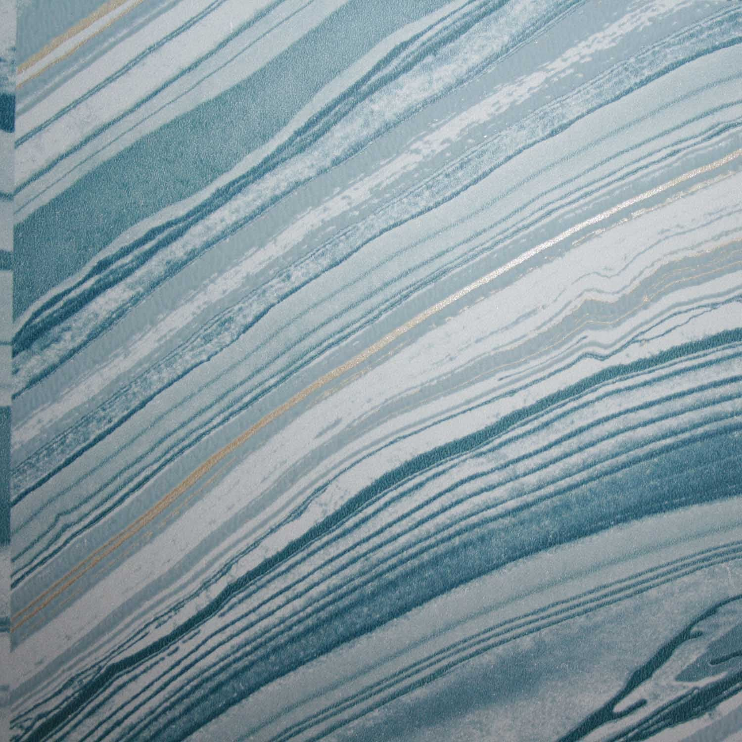 Beautiful Wallpaper Marble Turquoise - Agate_Blue_beige_dark_grey_white_and_irridescent_pearl_2  Snapshot_715830.jpg?v\u003d1517005919