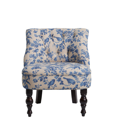 Oasis Odette Amelia Blue Designer Accent Chair - Your 4 Walls
