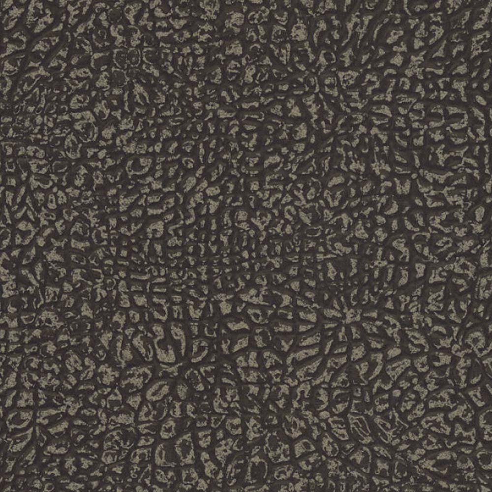 Animal Skin Effect Wallpaper in Black & Gold Shimmer - Your 4 Walls