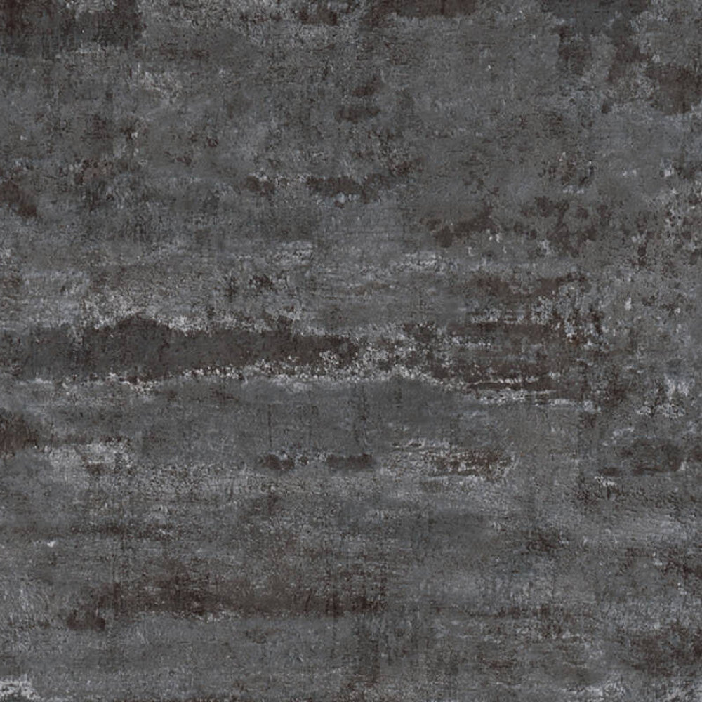 Textured Concrete & Plaster Effect Wallpaper in Black & Charcoal - Your 4 Walls