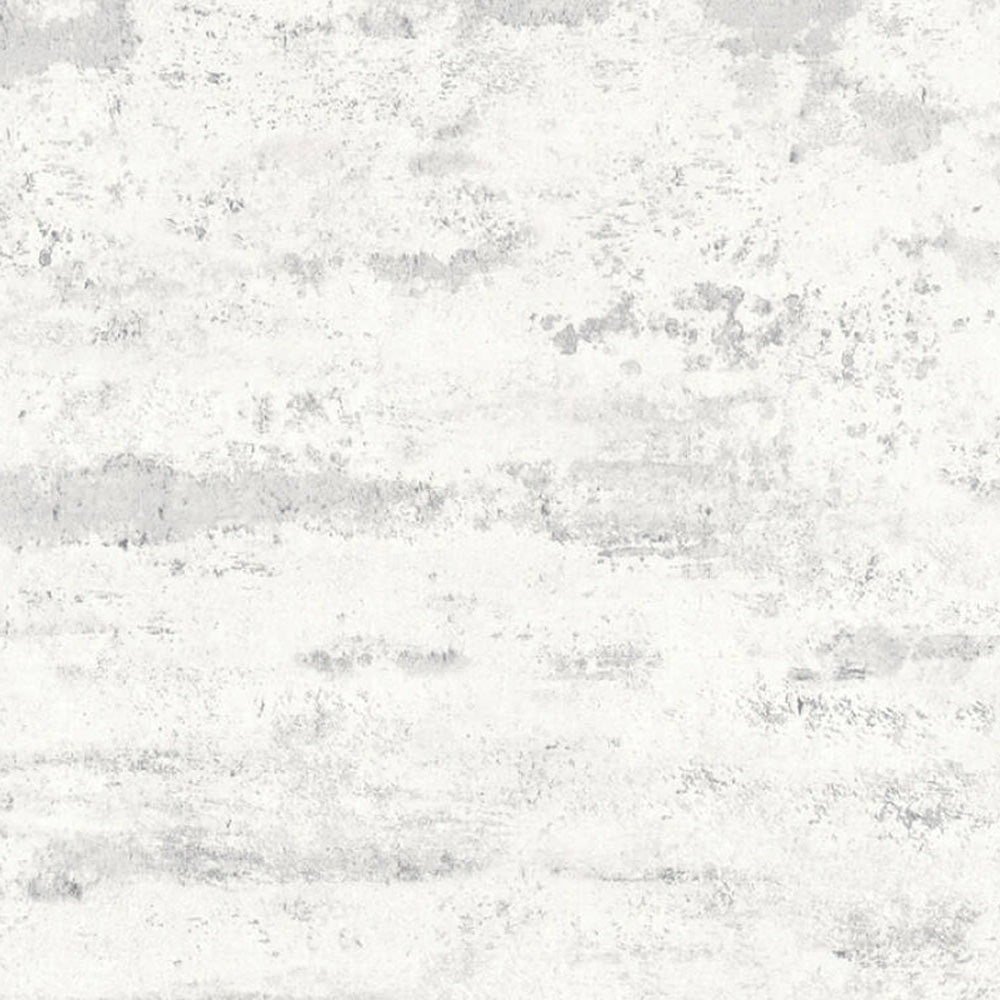 Textured Concrete & Plaster Effect Wallpaper in Grey & White - Your 4 Walls