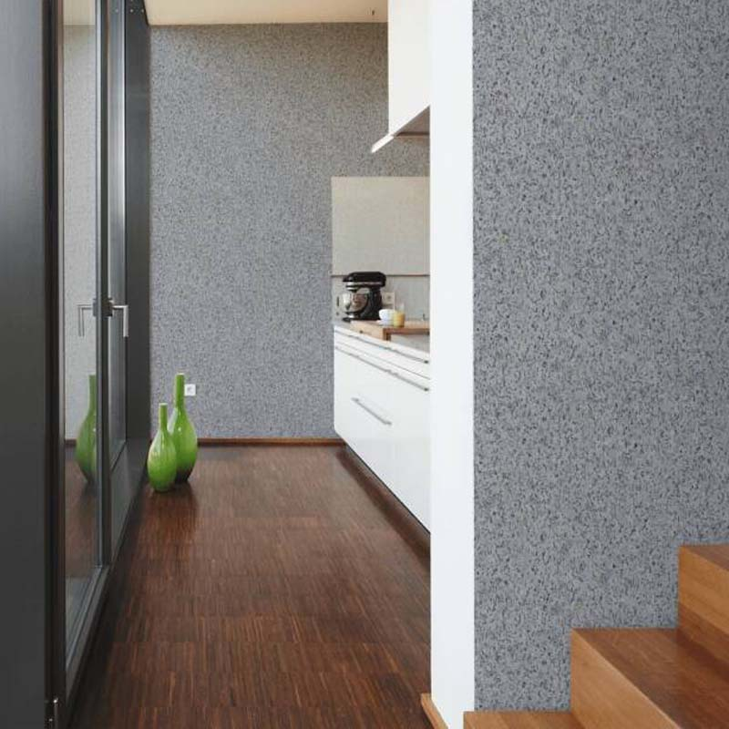 Cork Effect Wallpaper in Grey, Black & Gold - Your 4 Walls