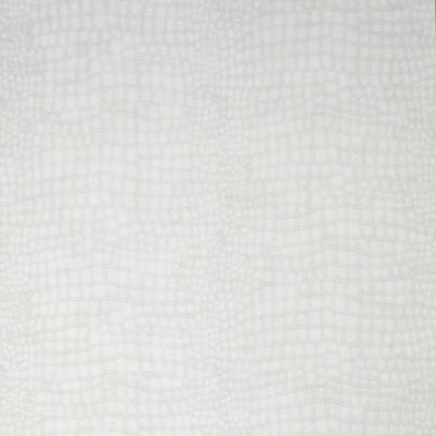 Matt White Small Crocodile Skin Effect Wallpaper - Your 4 Walls