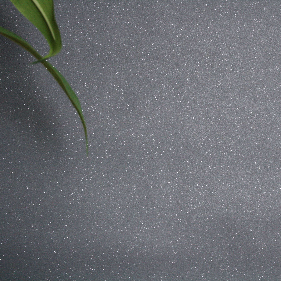 Dazzle Glitter Effect Wallpaper | Charcoal/Dark Grey