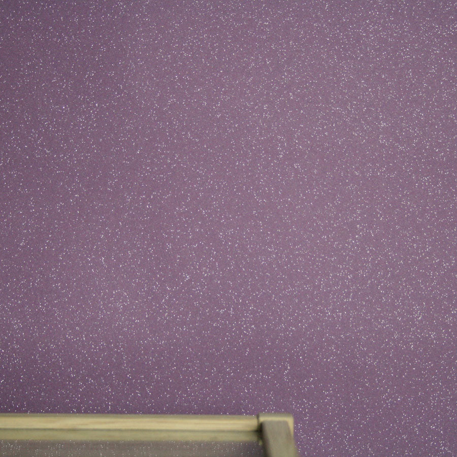 Dazzle Glitter Sparkle Effect Wallpaper | Purple/Violet