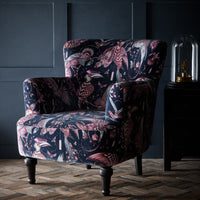 Emma J Shipley Dalston Audubon Pink Designer Accent Chair | Special Introductory Price - Your 4 Walls
