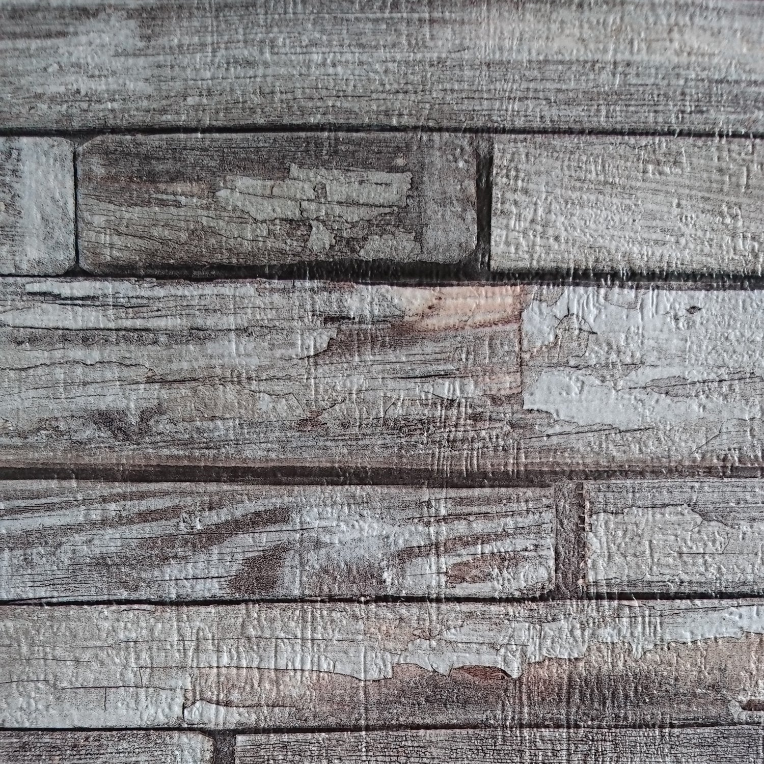 Embossed 3d Wood Effect Wallpaper Grey Red Brown Your 4 Walls