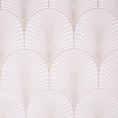 Art Deco Gatsby Tile Effect Geometric Wallpaper in Dusky Pink and Rose Gold - Your 4 Walls