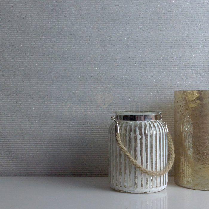 LAST ROLL Glitter Gravel Wallpaper | Grey
