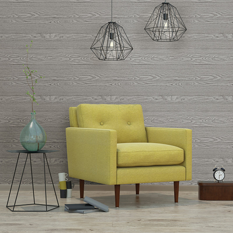 Wide plank Textured Wood Painted Effect Wallpaper | Grey - Your 4 Walls