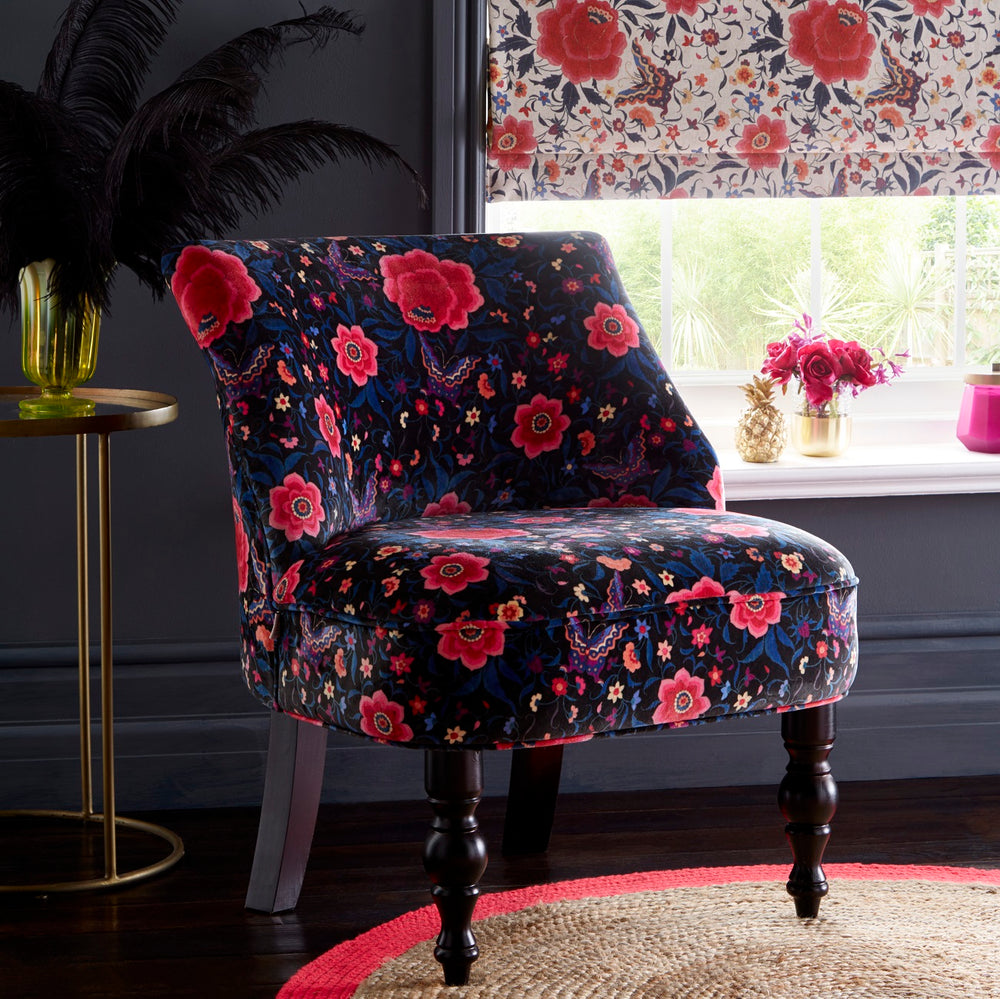 Oasis Langley LA Habana Black Designer Accent Chair - Your 4 Walls