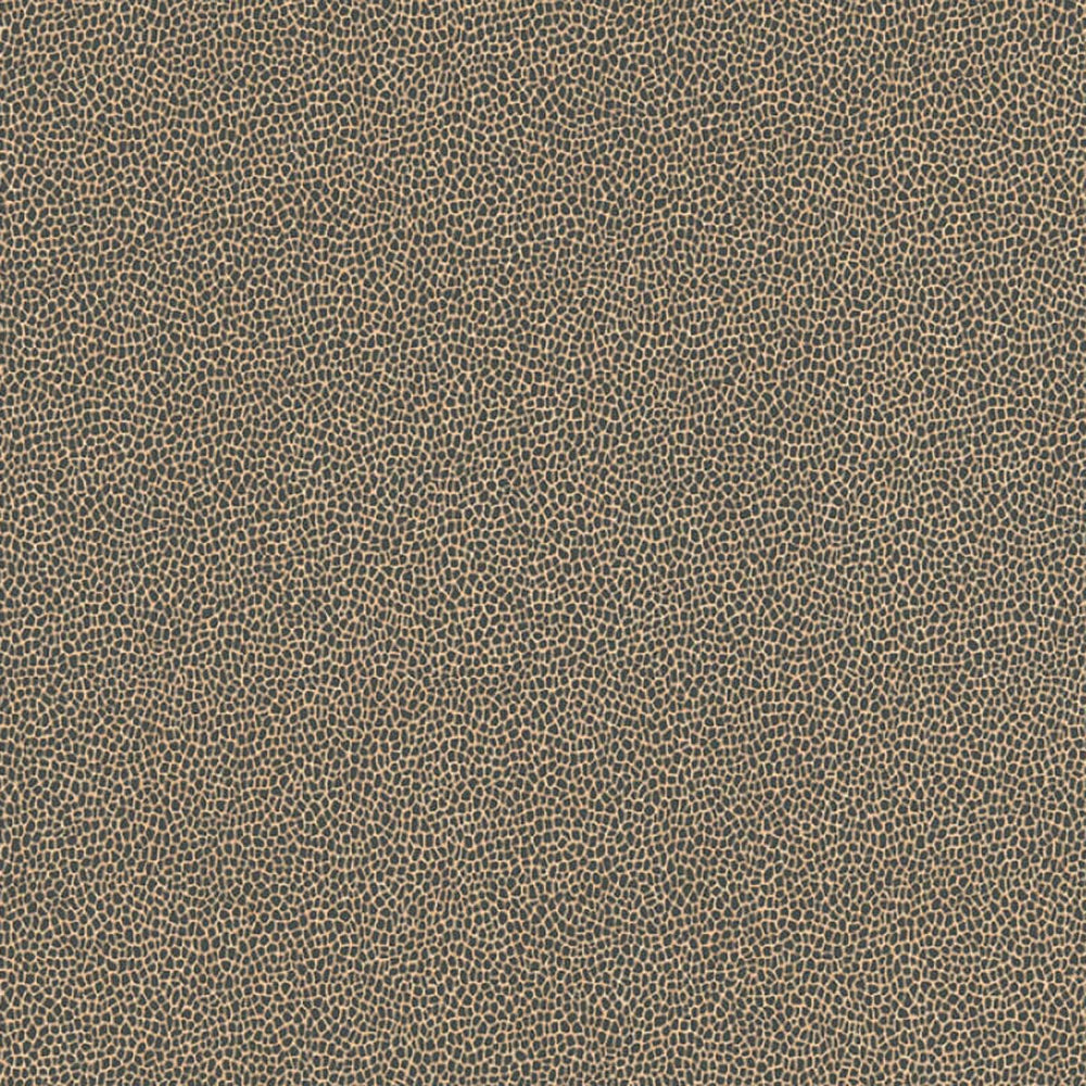 Reptile Skin Effect Wallpaper in Black and Gold - Your 4 Walls
