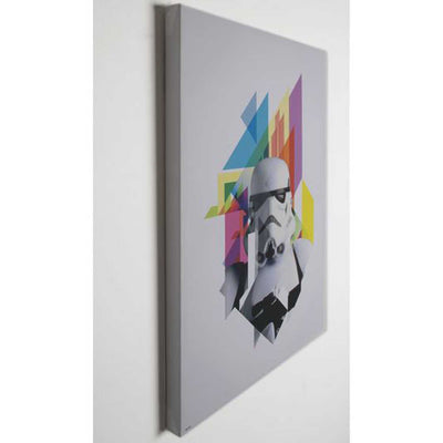 Stormtrooper | Starwars Printed Canvas h:70cm  x w:50cm - Your 4 Walls