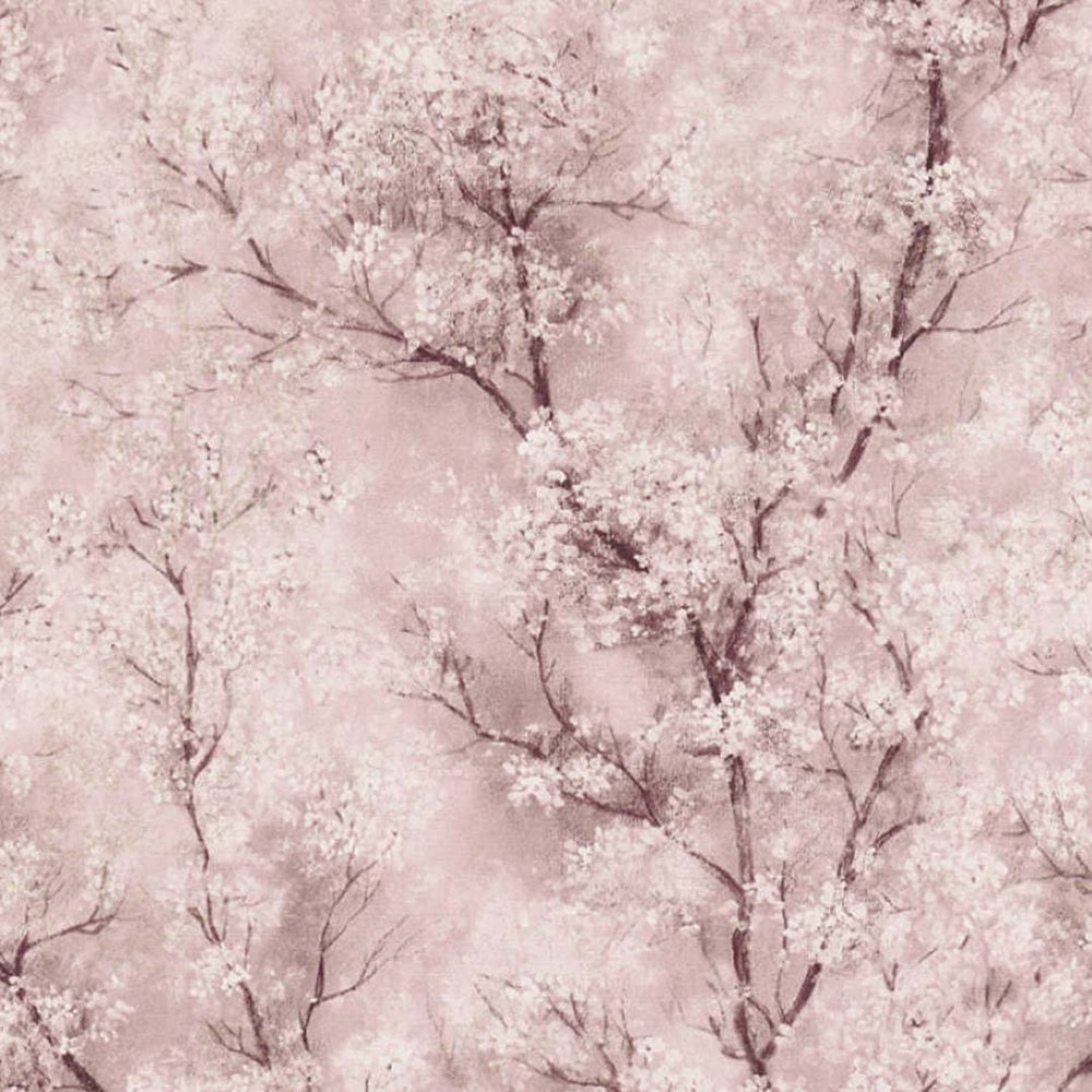 Blossom Tree in Pink, Charcoal, Grey, White & Glitter - Your 4 Walls
