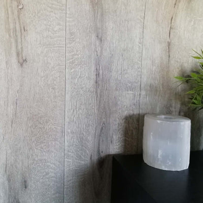Realistic Wood Plank Effect Textured Wallpaper | Natural Beige - Your 4 Walls