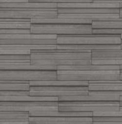 Ledgestone Textured Tile Effect Wallpaper in Dark Grey (2 x rolls for a set amount) - Your 4 Walls